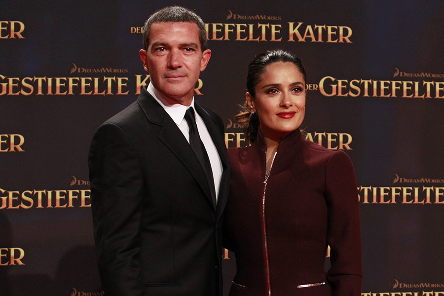 Desperado Stars Antonio Banderas And Salma Hayek S Never Before Seen Photo Leaked From The Stage