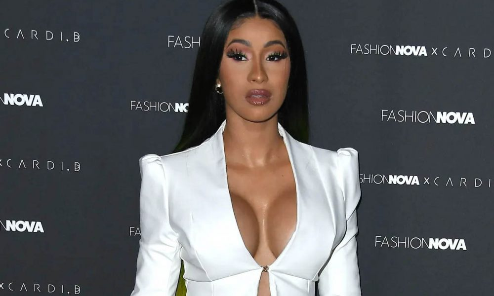 cardi b instagram news - From The Stage